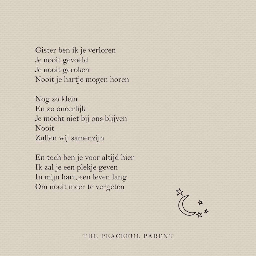 Gedicht Op Maat The Peaceful Parent
